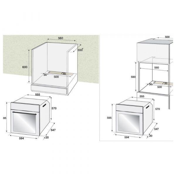 beko-BIE-22101-X-forno-ventilato-inox-schema-incasso