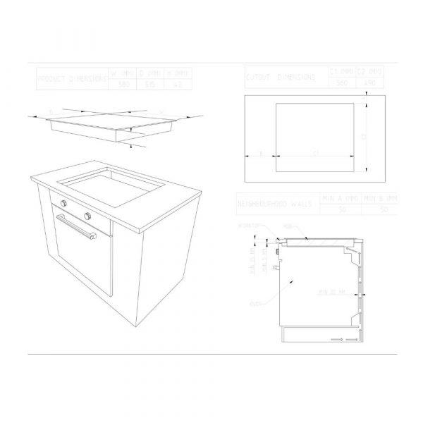 piano-cottura-finlux-FXBGH13X60X-schema-incasso.